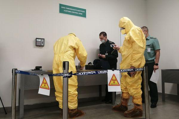 ФСБ, таможня спасатели и медики искали в аэропорту Самары мощный компонент грязного оружия массового поражения | CityTraffic