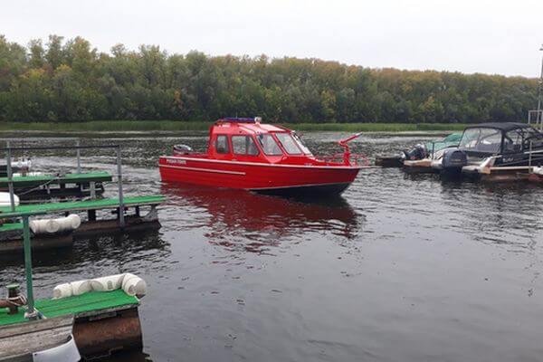 Самарские лесники получили пожарный катер | CityTraffic