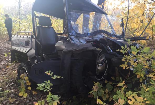 В Самарской области квадроцикл врезался в дерево, один человек погиб | CityTraffic