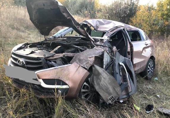 На Обводном шоссе в Тольятти перевернулась «Лада», пострадали два человека | CityTraffic