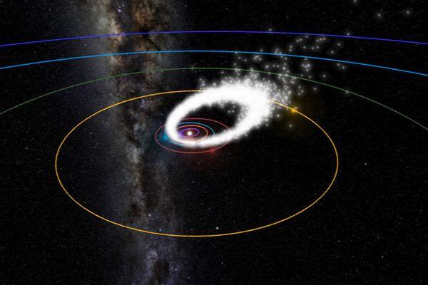 Звездный дождь от кометы Галлея пройдет вночь со среды на четверг