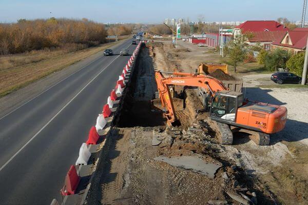 Подрядчик начал строить выезд из Южного города | CityTraffic