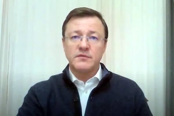 Губернатор Самарской области Дмитрий Азаров вылечился от коронавируса | CityTraffic