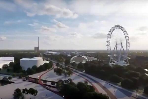 Колесо обозрения может появиться в Самаре на территории мундиального стадиона: видео | CityTraffic