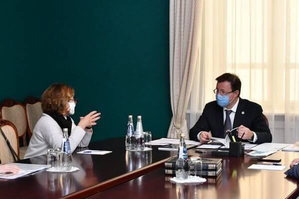 Дмитрий Азаров и Зельфира Трегулова обсудили реализацию  проекта по созданию филиала Третьяковки в Самарской  области | CityTraffic