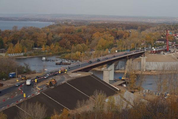 Мост через Сок в Самарской области сдадут почти на год раньше | CityTraffic