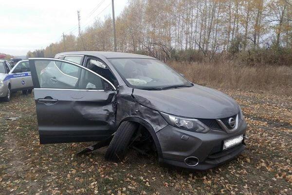 На трассе М-5 в Самарской области столкнулись две иномарки | CityTraffic