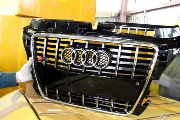 В Самарской области задержали контрафактные решетки радиатора Audi на 12 млн рублей | CityTraffic
