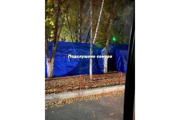 В Самаре установили палатки для тренировки врачей по сортировке пациентов | CityTraffic