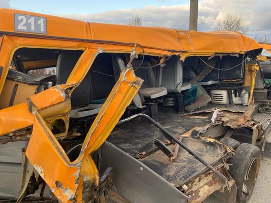 В Тольятти 5 человек пострадали в результате столкновения грузовика и маршрутки | CityTraffic