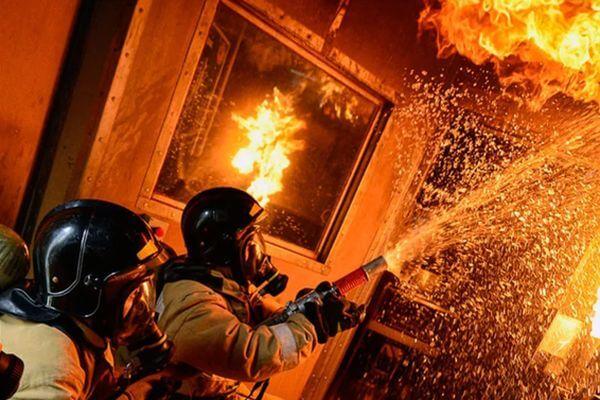 На рынке в Самарской области сгорели 3 павильона | CityTraffic