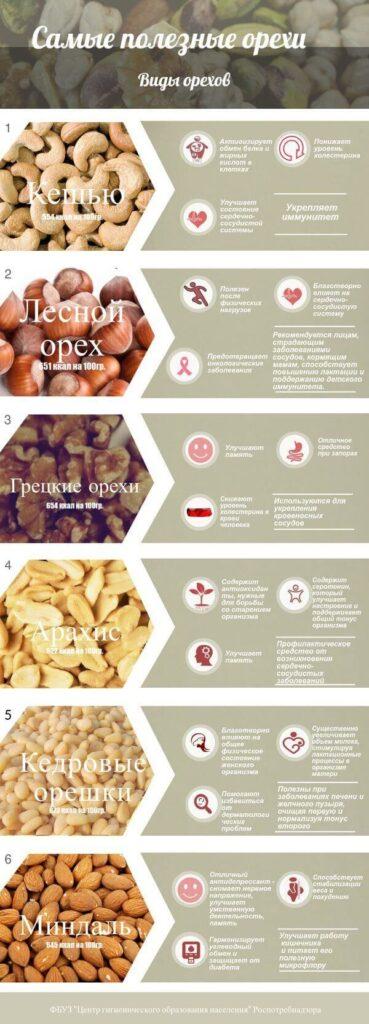 Роспотребнадзор назвал самые полезные орехи | CityTraffic