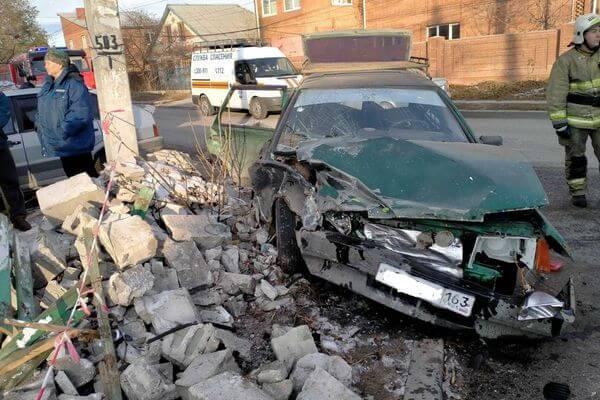 Семья с двумя детьми пострадала в аварии в Тольятти | CityTraffic