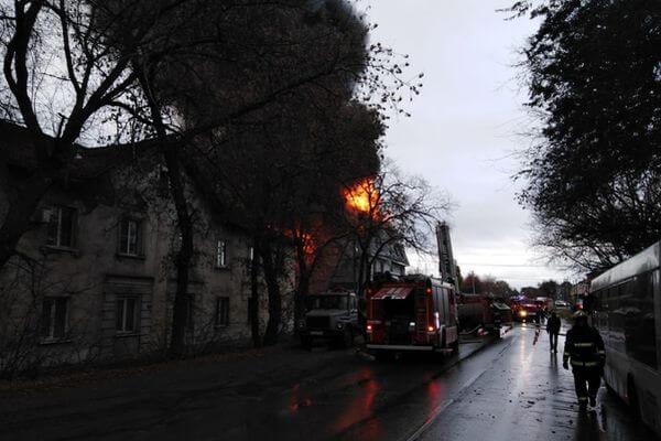 В Самаре на пожаре погибли 4 человека | CityTraffic