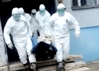 В Тольятти медикам потребовалась помощь спасателей в транспортировке пациента с COVID-19: видео | CityTraffic