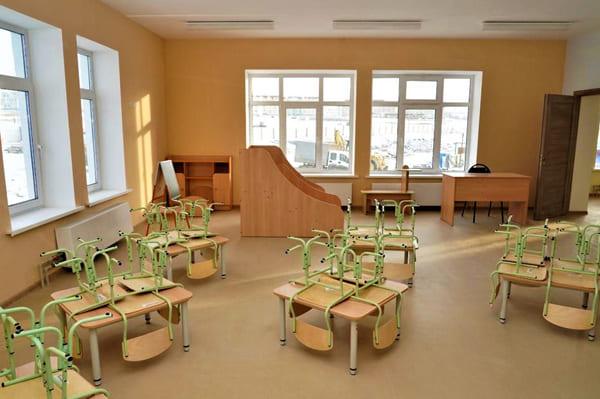В середине февраля 2021 года в жилом районе «Крутые Ключи» откроется новый детский сад на 350 мест | CityTraffic