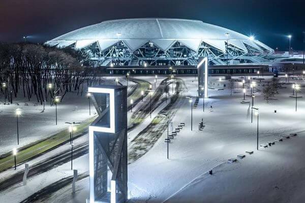 На стадионе «Самара Арена» появилась интерактивная фотозона с футболистами «Крыльев Советов» | CityTraffic