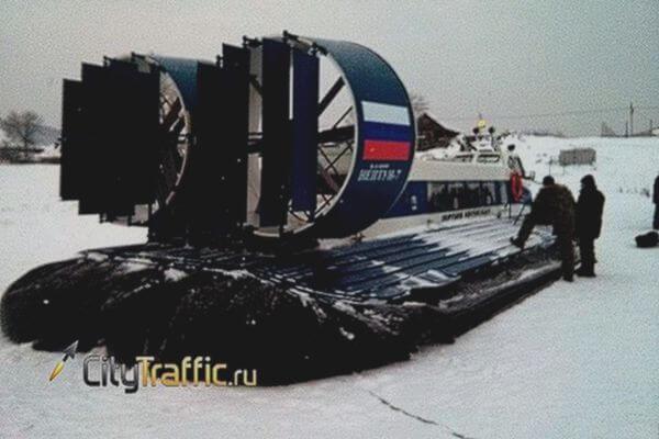 С 13 декабря от Самары до Рождествено начинают ходить суда на воздушной подушке | CityTraffic