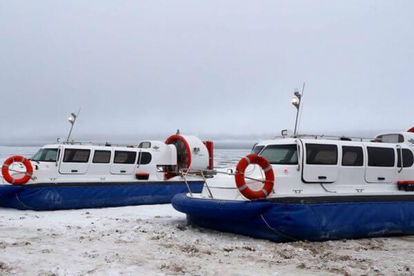 В Самарской области закупили три судна на воздушной подушке для переправы до Рождествено | CityTraffic