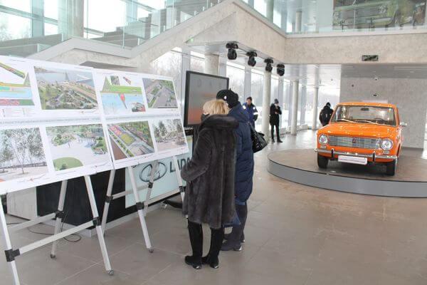 На набережной Тольятти через 3 года появятся сухие фонтаны и амфитеатр | CityTraffic