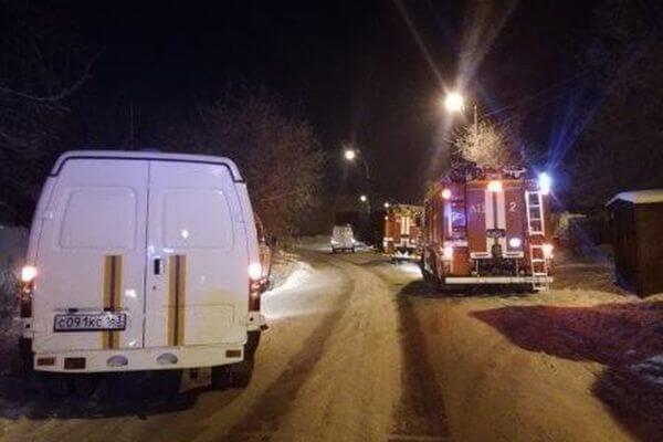 В Самаре пожар на складе фабрики сырков тушили 96 человек | CityTraffic