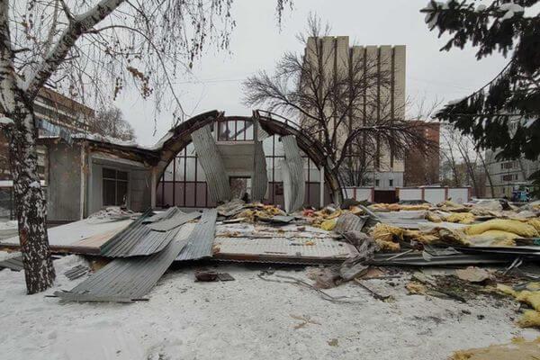 В Самаре снесли торговый павильон в Ленинском районе | CityTraffic