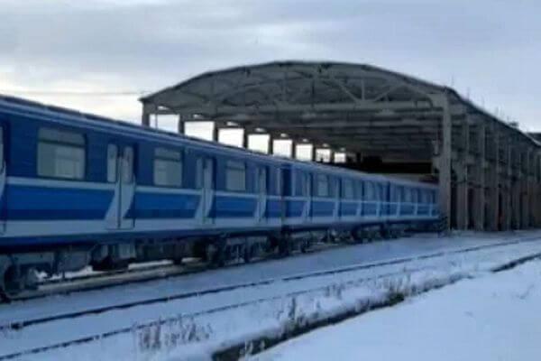 В Самару из Санкт-Петербурга прибыли  вагоны метро, оборудованные видеокамерами | CityTraffic