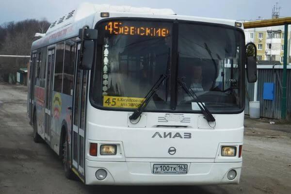 В Самаре изменится маршрут автобуса №45 | CityTraffic