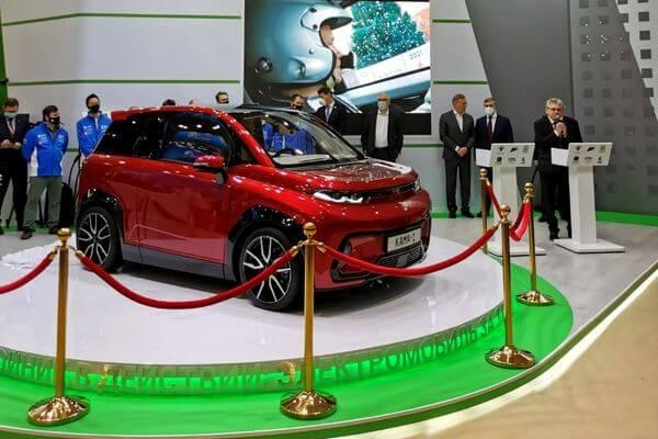 Легковой электромобиль КАМАЗ официально показали публике | CityTraffic