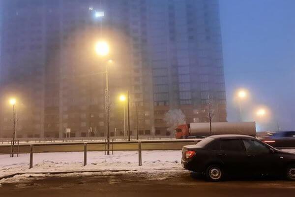 Жители Самары заметили погасшую иллюминацию на Московском шоссе | CityTraffic