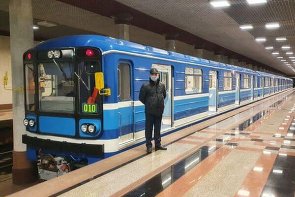 В метро Самары появились новые вагоны с видеонаблюдением | CityTraffic
