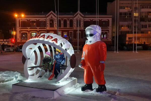 На площади Куйбышева в Самаре появился космопупс | CityTraffic