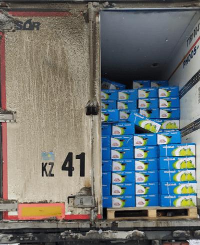 На территорию Самарской области пытались незаконно ввезти почти 40 тонн цитрусовых | CityTraffic