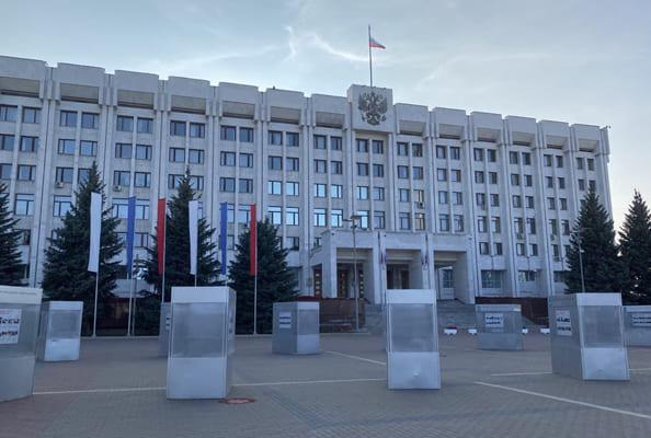 Из здания правительства Самарской области по пожарной тревоге эвакуировали 520 человек | CityTraffic