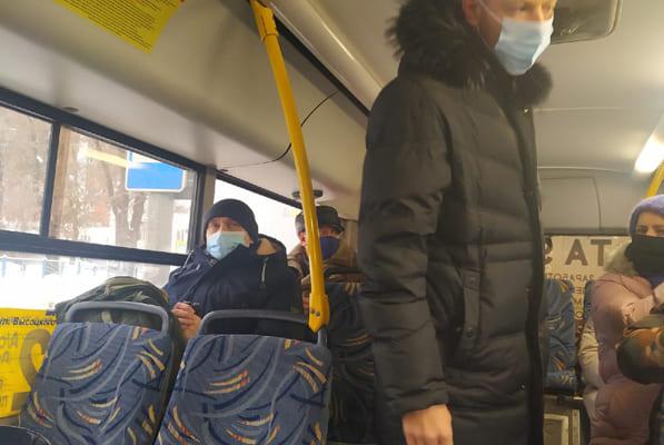 Жители Самары просят не высаживать пассажиров без маски из транспорта на мороз | CityTraffic