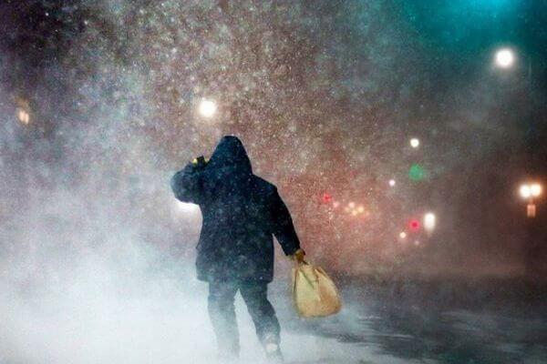 Снег и метель прогнозируют синоптики в начале рабочей недели в Самарской области | CityTraffic