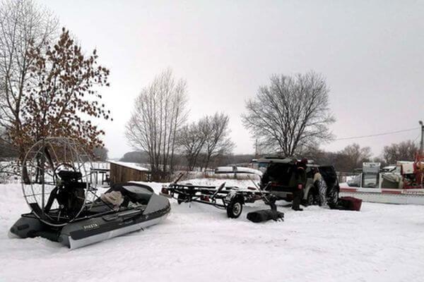 Двух рыбаков спасли с озера Щучье в Самарской области | CityTraffic