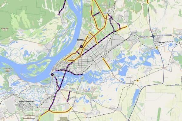 Московское шоссе с улицей Ново-Садовой в Самаре соединят к 2035 году | CityTraffic