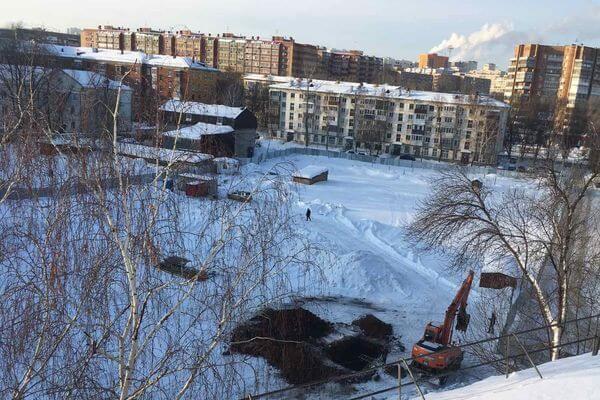 Жители Самары возмущены строительством высотки в Советском районе | CityTraffic