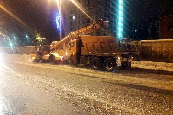 В Самаре за половину января выпала норма снега замесяц