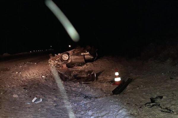 На трассе М-5 в Самарской области опрокинулась иномарка | CityTraffic