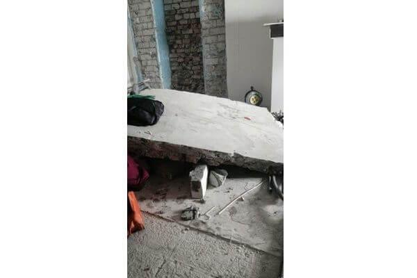 Стена в самарской пятиэтажке рухнула при проведении строительных работ | CityTraffic