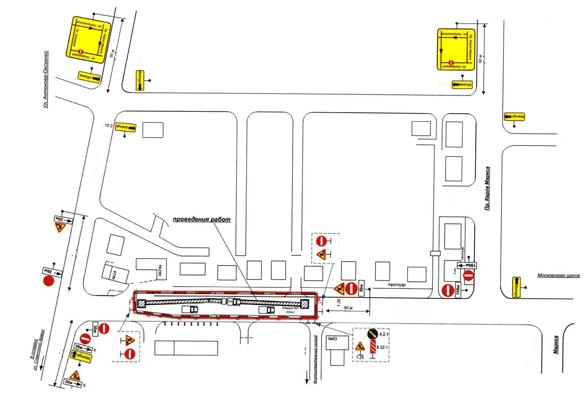 До 11 января в Самаре ограничено движение по участку улицы Санфировой | CityTraffic