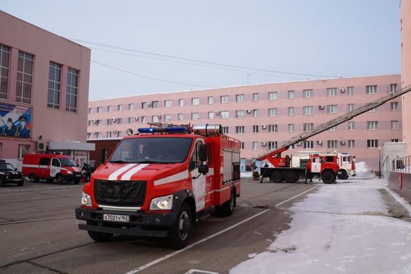 По повышенному рангу условного пожара 67 человек работали в здании юридического института ФСИН в Самаре   CityTraffic