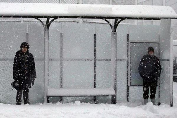 Жители Самары не дождались автобуса 5д