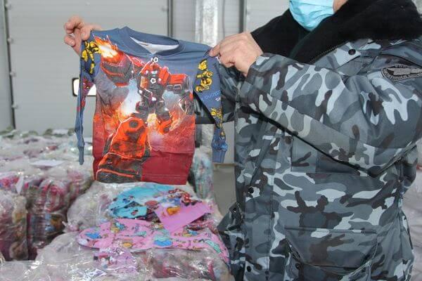 Самарские таможенники задержали 18 тысяч детских вещей с поддельными мультгероями | CityTraffic