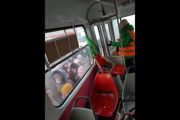 В Самаре восстановлено движение трамваев по Ставропольской   CityTraffic