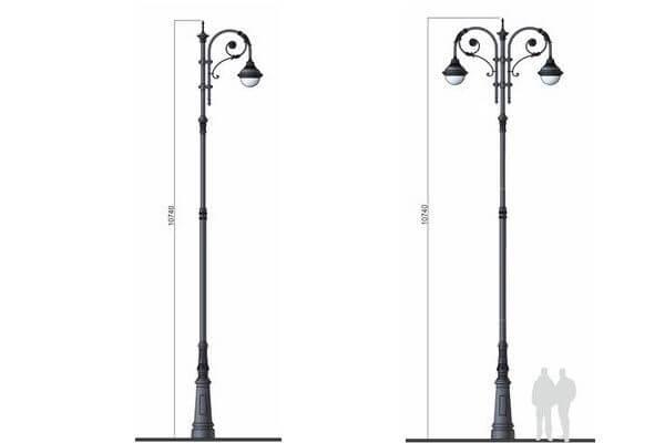 В Самаре на улице Куйбышева установят 72 черных фонаря | CityTraffic