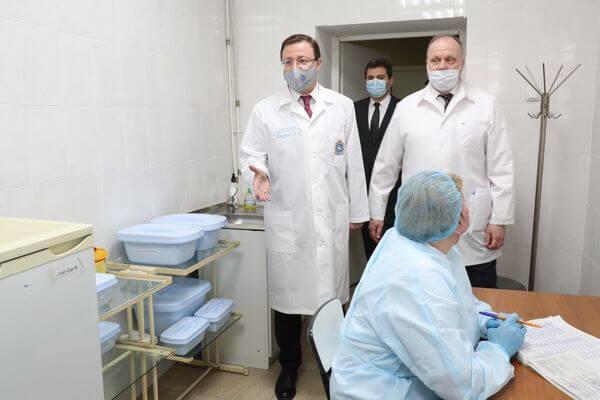 В Самарской области вакцинацию от коронавируса прошли более 91 тысячи человек | CityTraffic
