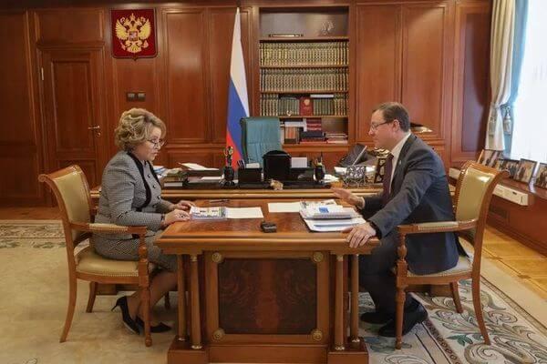 Валентина Матвиенко оценила реализацию нацпроектов в Самарской области | CityTraffic